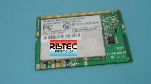 placa rede mini pci wireless arcadyan wn4401c1-zz