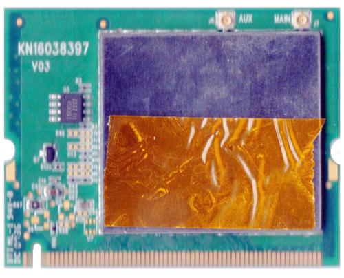 placa rede mini pci wireless itautec w7635 wn2302a ar5bmb5