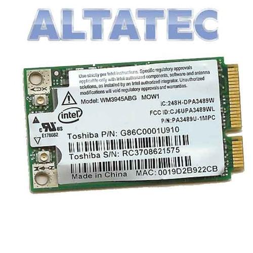 placa rede pci wireless toshiba satelite a100 wm3945abg mow1