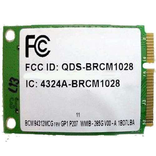 placa rede wi fi hp compaq presario cq40 bcm94312mcg