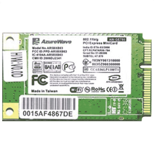 placa rede wireless lg r40 r400 ar5bxb63 ebm37216401