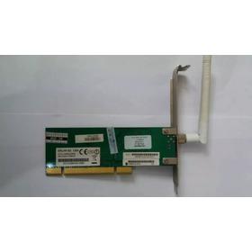 Placa Rede Wireless Pci Encore Enlwi-g2 S/ Fio  C4-6