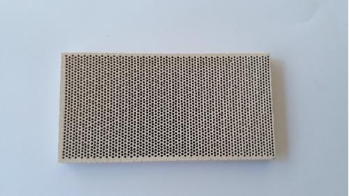 placa refractaria cerámica 70 x 138mm