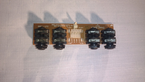 placa saida de audio amplificador oneal op1600