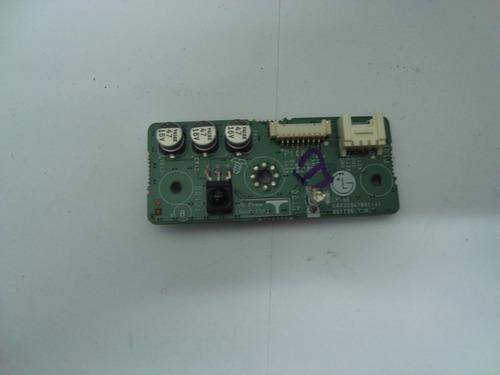 placa sensor controle remoto tv lg 42lc4r-md, usada