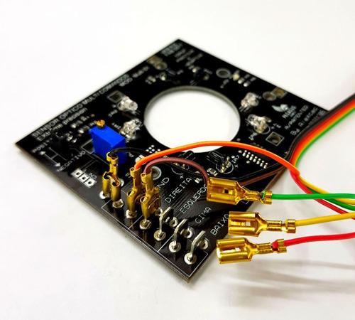 placa sensor optico pegasus games controle arcade fliperama