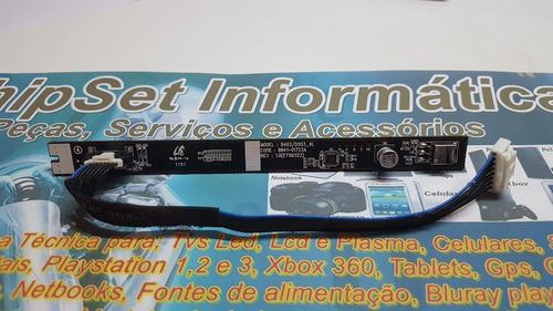 placa sensor touch/controle remoto tv samsung ln40d503f7