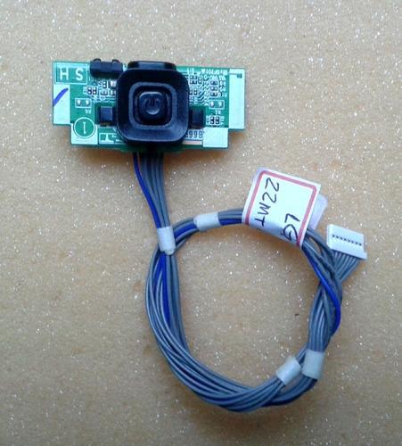 placa sensor/teclado lg 22mt48df (frete10.00 leia o anúncio)
