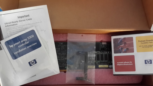 placa smart array 5304/256mb controller scsi pci 283551-b21