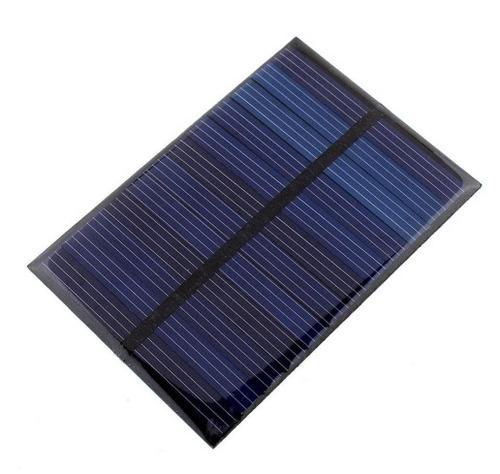 placa solar  célula fotovoltaica 6 v 100ma 0,7 w