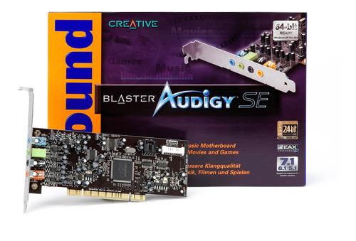 placa sonido creative sound blaster audigy 5.1 sb0570