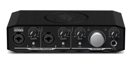 placa sonido ftm interface mackie  onyx producer 2-2 audio