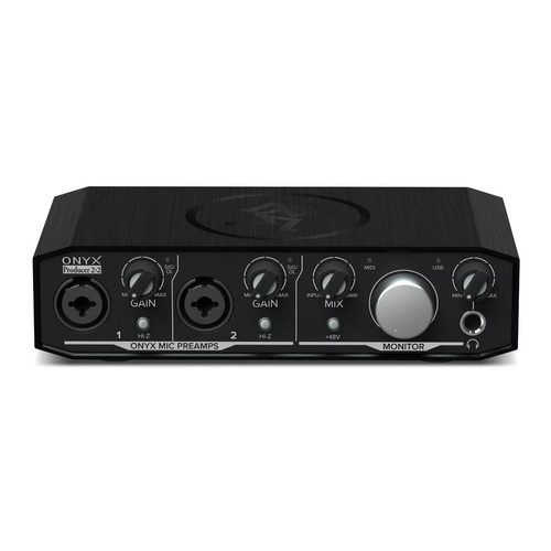 placa sonido ftm interface mackie  onyx producer 2-2 audio