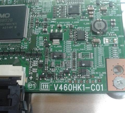 placa t-com samsung un46d6500vgxzd - v460hk1-c01