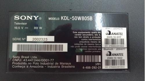 placa t-com tv 50 sony kdl-50w805b