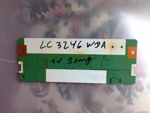 placa t-con da tv semp lc3246wda testada
