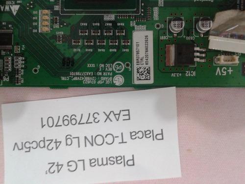 placa t-con lg 42  42pc5rv eax37799701