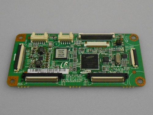 placa t-con samsung plasma modelo:pl42c430a1 lj41-08392a