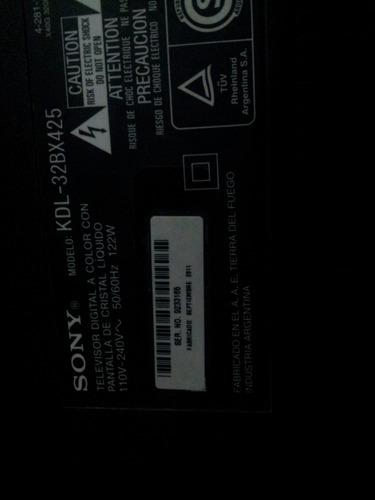 placa t con sony kdl 32bx425