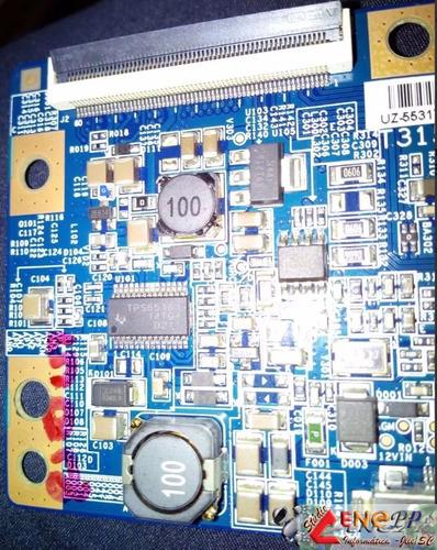 placa t-con t315hw04, tv sony kdl-32bx425