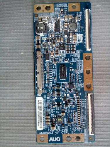 placa t-con - tv sony kdl-46bx455