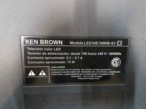 placa tactil receptor remoto  ken brown led 39e700kb-s3