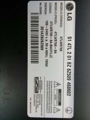 placa tcon tv led lg 47lw5700