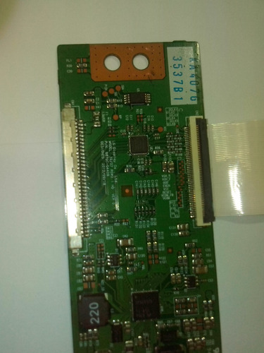 placa tcon tv lg32ly340c - com flat-pn6870-0442b
