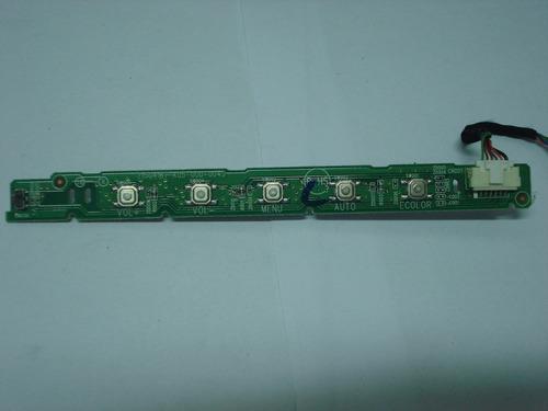 placa teclado monitor acer p166hql, usada