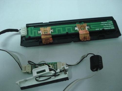 placa teclado monitor samsung t190, usada e testada