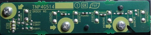 placa teclado panasonic tnp4g514