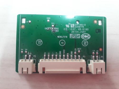 placa teclado semp toshiba 40-32d291b-kec2lg nos 40l2600