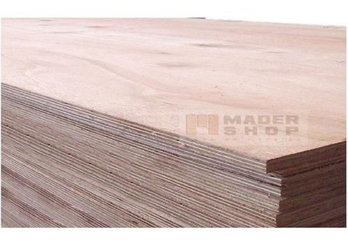 placa terciado fenolico 4/ind. 12 mm x 1,22 x 2,44 mts. - mader shop