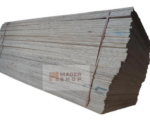 placa terciado fenolico 4/ind. 18 mm x 1,22 x 2,44 mts. - mader shop
