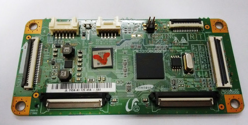 placa time control tv samsung pl43d491a4g  lj41-09475a