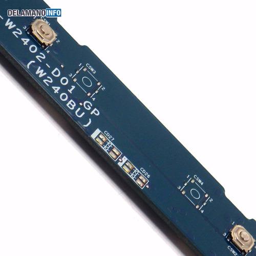 placa touchpad positivo 2000 6-71-w2402-d01 promoção (5921)