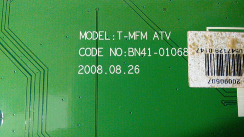 placa tv monitor samsung t220m bn-41-01068b....