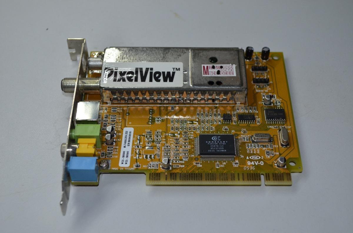 driver placa de tv pixelview pv-m4900 fm rc