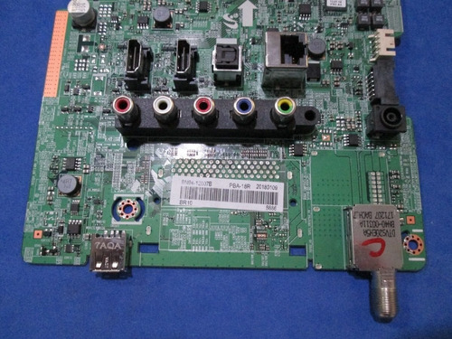 placa tv samsung 32 principal un32j4300 bn94-12607b semi-nov