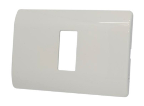 placa un modulo +soporte 4*2 genesis schneider mwd130417421