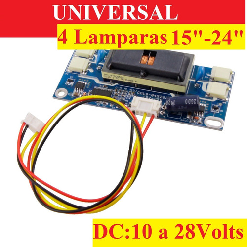 placa universal lcd inverter lg samsung acer viewsonic ve100