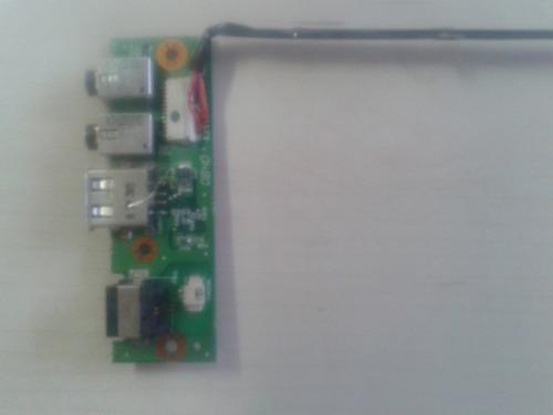 placa usb áudio modem positivo z520 z580 - original