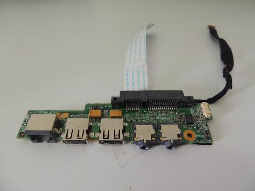 placa usb / audio para netbook philco phn10ap123ws