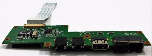 placa usb áudio rj45  cartão netbook philco 11a phn11b11