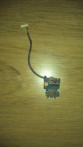 placa usb + botão liga desliga samsung rv410
