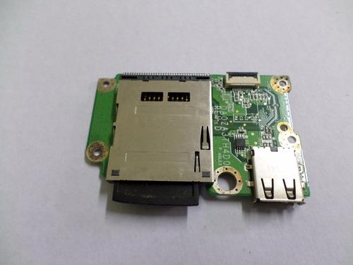 placa usb cartão sd netbook acer aspire one ao751h-1954