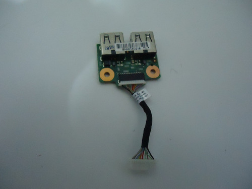 placa usb completa  notebook dv5-2112br -6050a231851