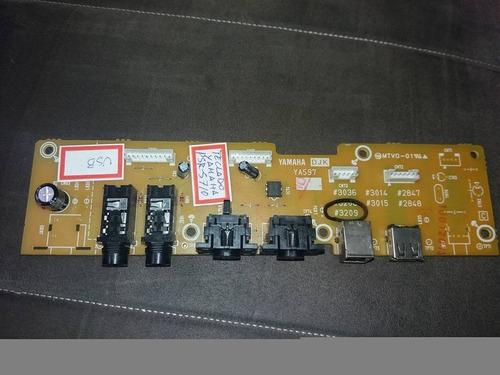 placa usb djk  do teclado yamaha prs-s710