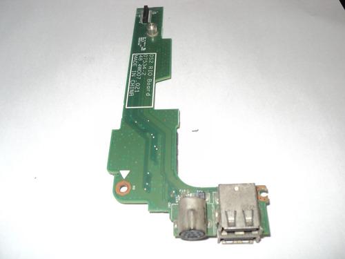 placa usb do notebook dell 1525 modelo 07534-2 ds2 rio board