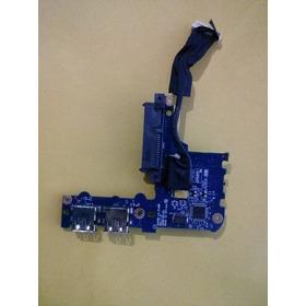 Placa Usb Leitor Cartão Conector Hd Acer One D250 Ls-5143p